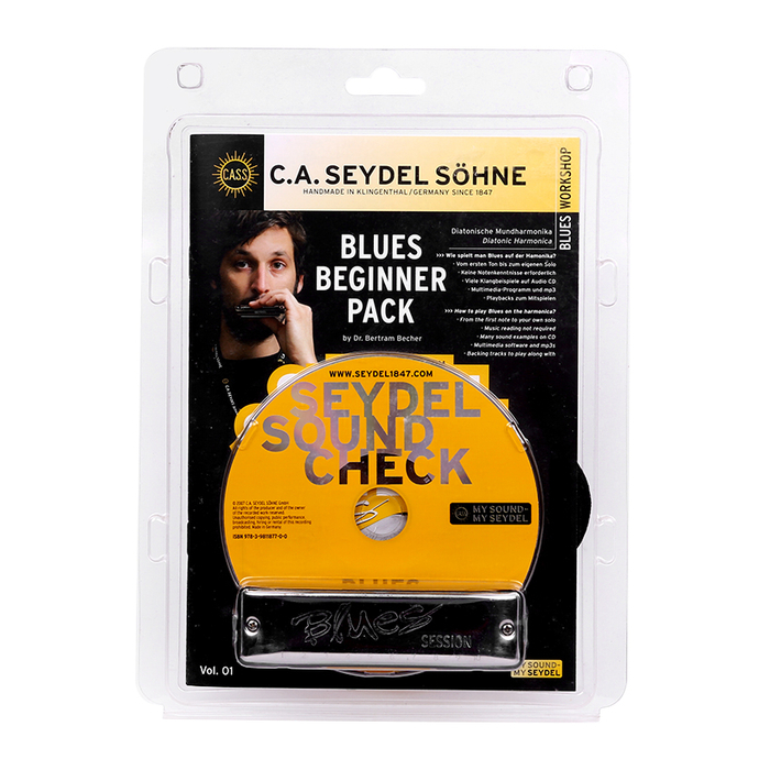 Bộ harmonica Seydel Blues Beginner Pack 40001
