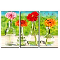Tranh đồng hồ Suemall-Những cánh hoa đồng tiền-HL140305