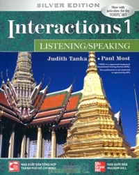 Interactions 1 (Silver Edition): Listening/Speaking (Kèm CD) - Judith Tanka & Paul Most