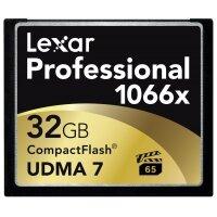 Thẻ Nhớ CompactFlash Lexar Professional 1066X 32GB 160MB/s