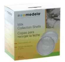 Bộ 2c hứng sữa Medela BPA free