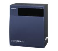 Tổng đài điện thoại - Panasonic KX-TDA100DBP (8 trung kế - 24 máy nhánh)