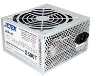 Nguồn JeTek Power Supply S500 (Nguồn máy tính) 500W - 24 pin
