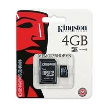 Thẻ nhớ Kingston SD Class 4 - 4GB