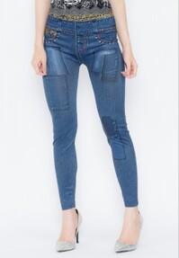 Quần Legging giả jeans Titishop QDN49