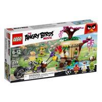 Mô Hình Lego Angry Birds - Siêu trộm đột nhập hòn đảo trứng 75823