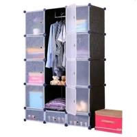 Tủ quần áo đa năng 15 ngăn Tupper Cabinet TC-15B-W