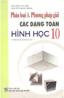 Phương pháp giải các dạng toán hình học 10