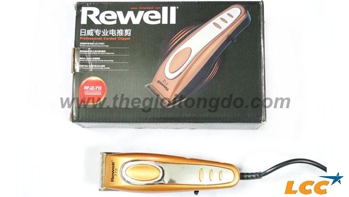 Tông Đơ Điện Cao Cấp Rewell 712