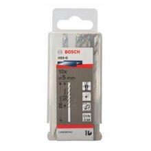 Bộ mũi khoan sắt HSS-G Bocsh 2608595062 - 10 mũi, 5mm