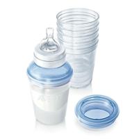 Bộ ly trữ sữa Philips Avent SCF610/05 - 240ml, có nắp đậy