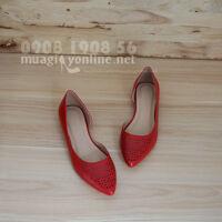Giày Bệt Hở Eo Vanessa 0586