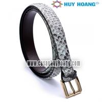 Thắt lưng nữ da trăn Huy Hoàng màu da nguyên thủy HH5303