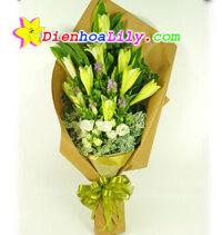 bó hoa loa kèn