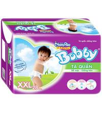 Tã quần Bobby size XXL28 miếng (trẻ trên 16kg)