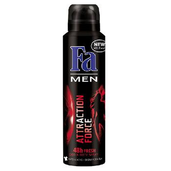 Xịt khử mùi nam Fa Men Attraction Force 150ml