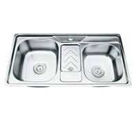 Chậu rửa bát inox cao cấp Picenza PZ99046 (PZ9-9046)