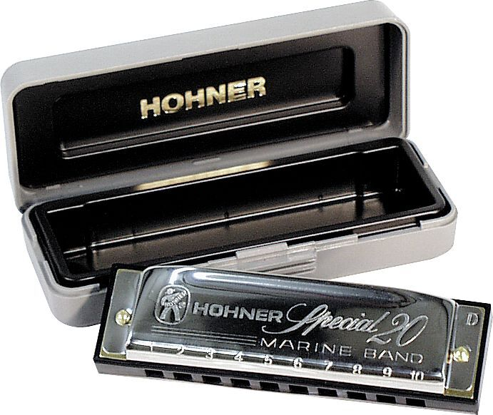 Kèn Harmonica Diatonic Hohner Special 20 M560016