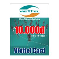 Thẻ cào Viettel mệnh giá 10.000 đồng