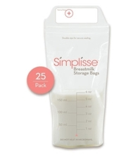 Túi trữ sữa Simplisse, 25 chiếc