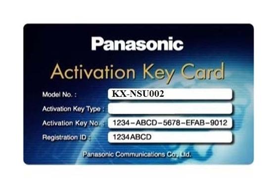 Activation key mở rộng tổng đài Panasonic KX-NSU002