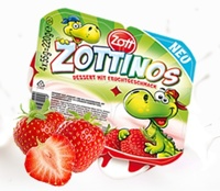 Sữa chua trái cây Zottinos dâu