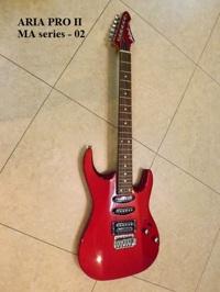 Đàn Guitar Điện Aria PRO II MA series