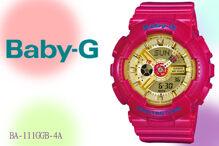 Đồng hồ nữ Casio Baby-G Quartz BA-111GGB - màu 4A