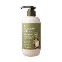 Sữa tắm Macadamia & Shea Body Cream Shower the face shop