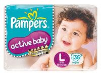 Tã dán Pampers size L 36 miếng (trẻ từ 9 - 14kg)
