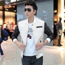 Áo khoác nam tay da Roco Fashion