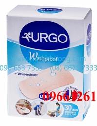 Băng cá nhân ít thấm nước Urgo Washproof 30 (hộp 30 miếng)