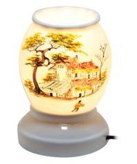 Đèn xông tinh dầu sứ thấu quang Bát Tràng NNGS-353