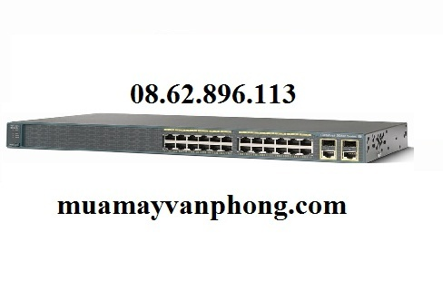 Switch Cisco Catalyst 2960-X 24 GigE 4 x 1G SFP LAN Base WS-C2960X-24T...