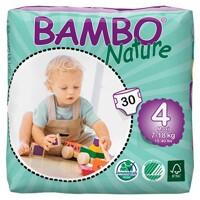 Tã dán Bambo Nature Maxi 4 L30 miếng (7-18kg)