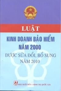 Luật kinh doanh bảo hiểm năm 2000