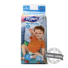 Tã dán Drypers Wee Wee Dry XL38