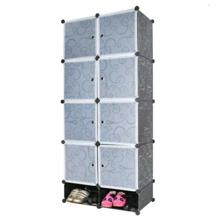 Tủ nhựa đa năng 10 ngăn Tupper Cabinet TC-10B-W2