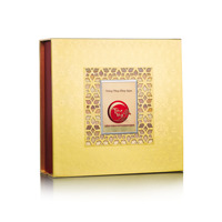 Hộp bánh trung thu Kinh đô Trăng vàng Hồng Ngọc Đỏ 4 bánh