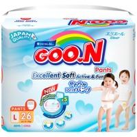 Bỉm quần Goon renew slim L26 9-14kg
