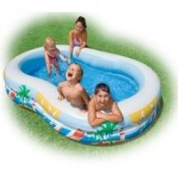 Bể bơi 2 tầng Intex 56490NP (262 x 160 46 cm)