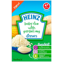 Bột ăn dặm Heinz - Gạo xay nhuyễn