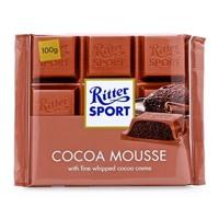 Socola Ritter Sport cacao kem sữa - 100g