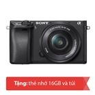 Máy ảnh Mirrorless Sony Alpha A6300 - 24MPx, 16-50mm