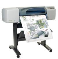 Máy in phun màu HP Designjet 500 Plus - A0
