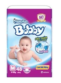 Tã quần Bobby Fresh M48 (dành cho trẻ từ 6-10kg)
