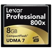 Thẻ nhớ máy ảnh Lexar 8GB 800x Professional Series UDMA CompactFlash