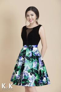 Đầm xòe K&K Fashion KK57-08