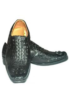 Giày nam da cá sấu Huy Hoàng HH7205