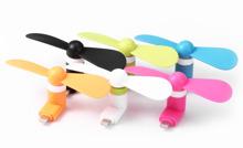 Quạt mini USB nhiều màu cắm chân điện thoại iphone